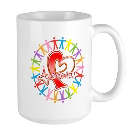 Oral Cancer Unite Awareness Large Mug