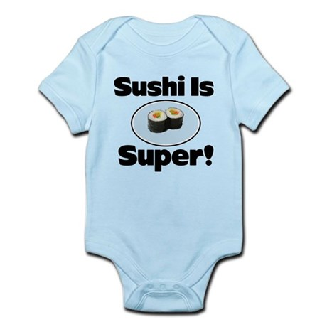 Sushi is Super! Infant Bodysuit