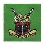 Republic of Rhodesia Tile Coaster