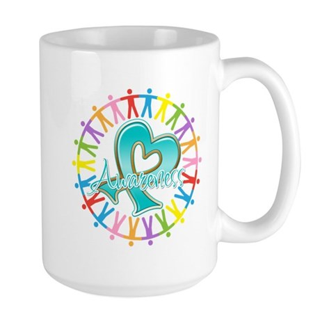 Ovarian Cancer Unite Large Mug