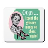 Oops! Shoes! Mousepad