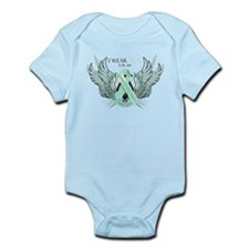 I Wear Teal for my Great Gran Infant Bodysuit
