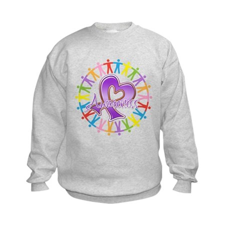 Pancreatic Cancer Unite Kids Sweatshirt