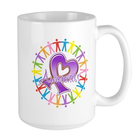 Pancreatic Cancer Unite Large Mug
