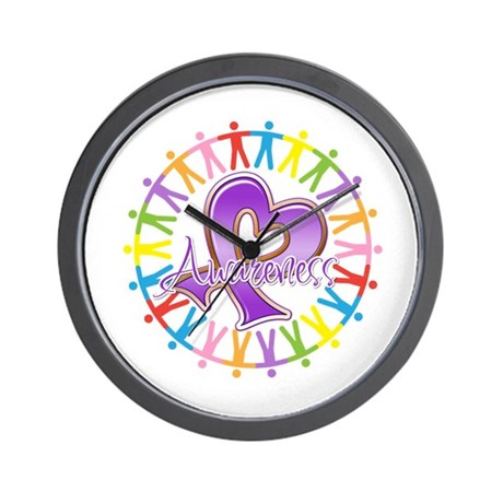 Pancreatic Cancer Unite Wall Clock