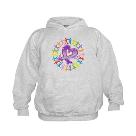 Pancreatic Cancer Unite Kids Hoodie