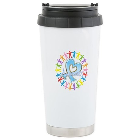 Prostate Cancer Unite Ceramic Travel Mug