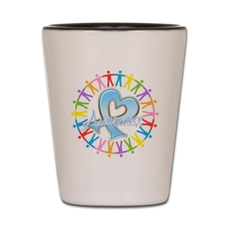 Prostate Cancer Unite Shot Glass