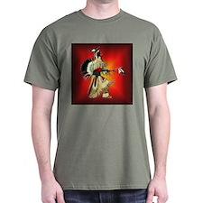 Native American Warrior #6 T-Shirt