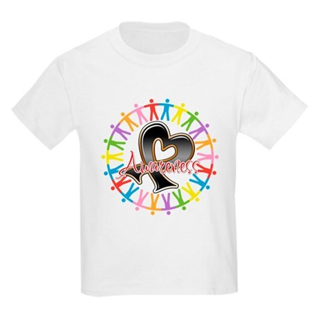 Skin Cancer Unite Awareness Kids Light T-Shirt