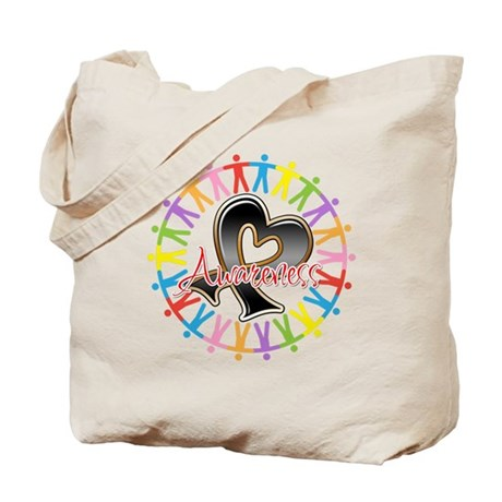 Skin Cancer Unite Awareness Tote Bag