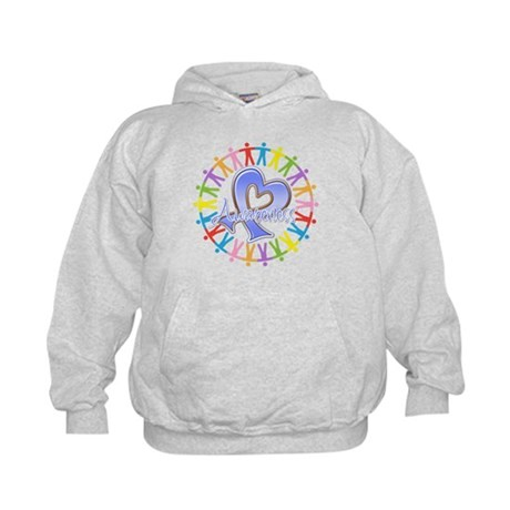 Stomach Cancer Unite Kids Hoodie