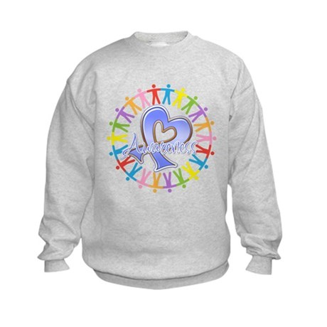 Stomach Cancer Unite Kids Sweatshirt