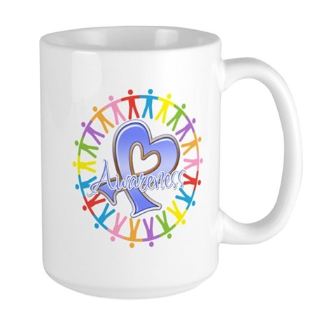 Stomach Cancer Unite Large Mug