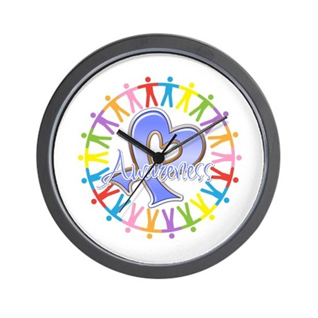 Stomach Cancer Unite Wall Clock