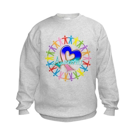 Thyroid Cancer Unite Kids Sweatshirt