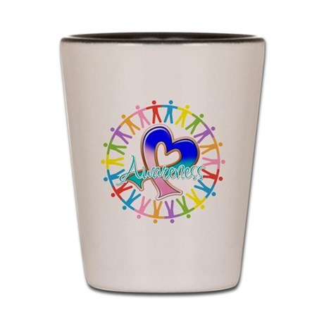 Thyroid Cancer Unite Shot Glass