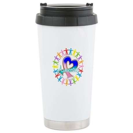 Thyroid Cancer Unite Ceramic Travel Mug