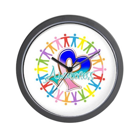Thyroid Cancer Unite Wall Clock