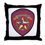 Texas Trooper Throw Pillow