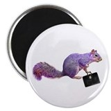 Purple Squirrel Magnet
