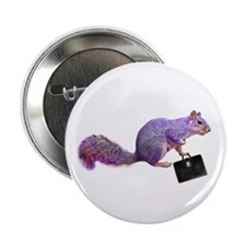 "Purple Squirrel 2.25"" Button"