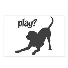 play? Labrador Postcards (Package of 8)