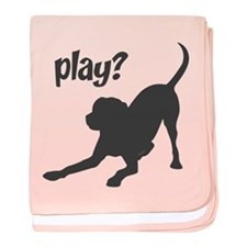 play? Labrador baby blanket