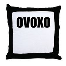 ovoxo Throw Pillow