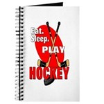 Eat Sleep Play Hockey Journal