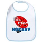 Eat Sleep Play Hockey Bib