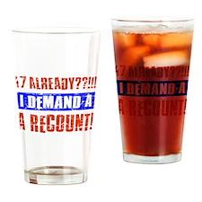 47th birthday design Drinking Glass