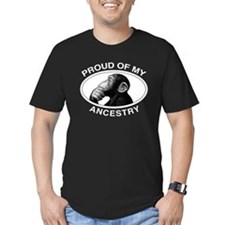 3-proud ancestry chimp wt T-Shirt