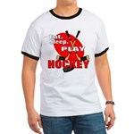 Eat Sleep Play Hockey Ringer T