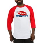 Eat Sleep Play Hockey Baseball Jersey