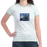 Football Fans Jr. Ringer T-Shirt