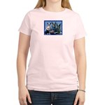Football Fans Women's Pink T-Shirt