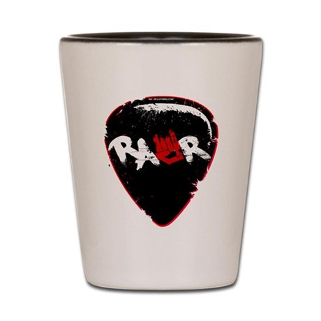 Rawr Guitar Pick Shot Glass