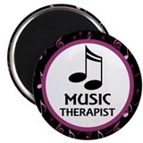 "Music Therapist Gift 2.25"" Magnet (10 pack)"