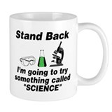 Stand Back It's Science Small Mugs