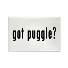GOT PUGGLE Rectangle Magnet