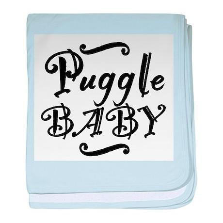 Puggle BABY baby blanket