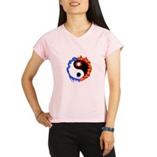 Cute Ying yang Performance Dry T-Shirt