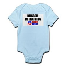 Rugger In Training Infant Creeper