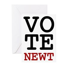 Vote Newt Gingrich Greeting Cards (Pk of 10)