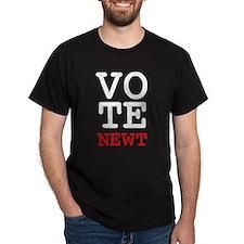Vote Newt Gingrich T-Shirt