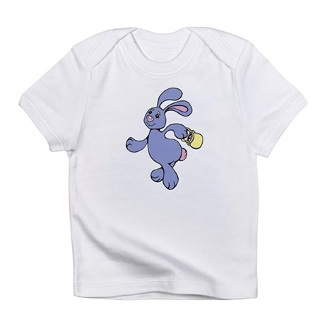Skipping Easter Bunny Infant T-Shirt