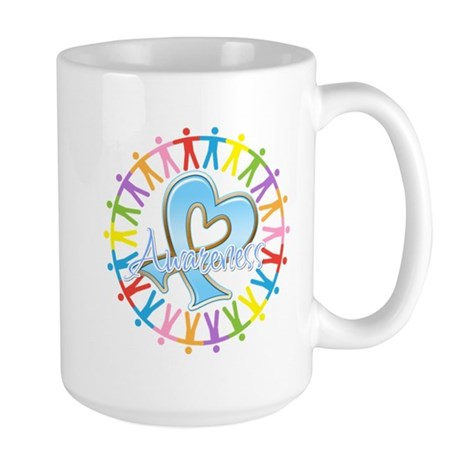 Thyroid Disease Unite Large Mug