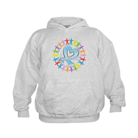 Thyroid Disease Unite Kids Hoodie