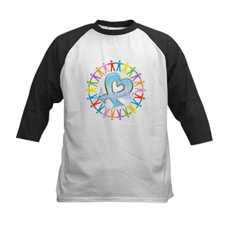 Thyroid Disease Unite Kids Baseball Jersey